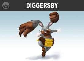 Diggersby Digs In!