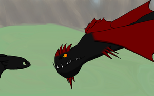 The Infertide and the Night Fury by Alicornbrodie