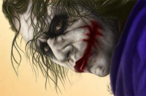 Joker by Esteljf colored by Me by OneStarGraphics