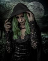 The Witch Of Hallows Eve.. by WelshDragonStockNArt