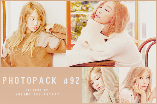 #92 PHOTOPACK-Taeyeon by vul3m3