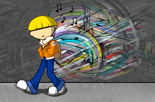 Urban Stroll: Numbuh 4 by man5ray