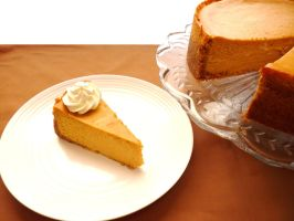 Pumpkin Cheesecake II by LoveandConfections