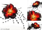 Wild Rose - Hand Embroidery by XQFashion