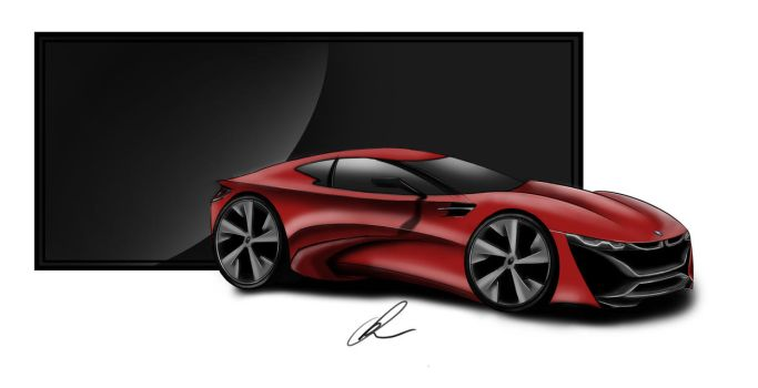 BMW concept sketch by solarstorm9