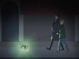 Gladstone: The Puppy of Baskerville by Allam