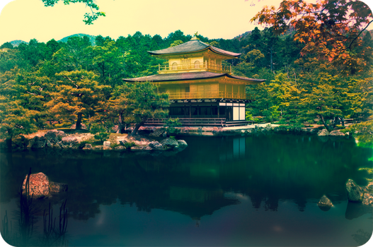 The Golden Pavilion by DavidNowak