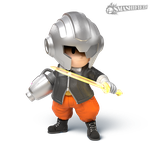 Masked Man Smashified (transparent) by hextupleyoodot