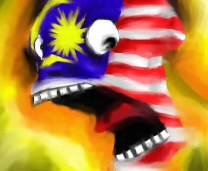 flag face. by soplee