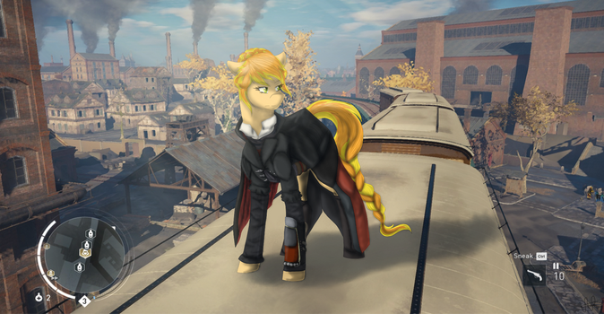 AC: Syndicate- Maple Rust {MLP/AC X-over} by ScarletsFeed