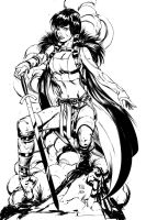 Young Lady Sif by k-omer
