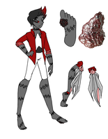 Gemsona: Kidney Ore by trezilla