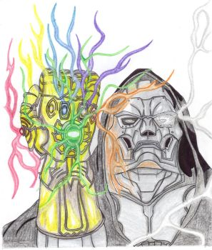 What If? Dr Doom by blazewb