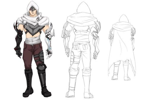 Male Silent Brotherhood Armor by 404FileNotFound