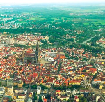 Ulm from above II by Life-For-Sale