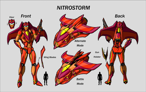 Nitrostorm Redesigned Colors by Laserbot