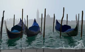 Venice In The Morning by 50ShadesOfShame