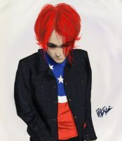 Gerard Way - Party Poison by VhanZifireZ