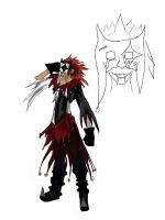 Halloween town Axel concept by Cosmic-Empress