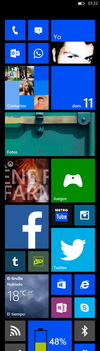 My Windows Phone 8 Start Screen by IvoFajardo