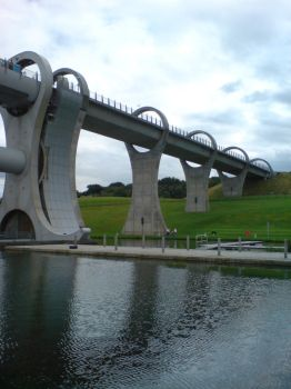 Falkirk Wheel 3 of 3 by Phantomduck181