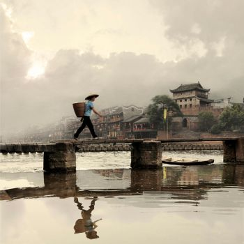 Tuojiang River by foureyes
