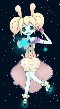 Space Bunny by Elise-san
