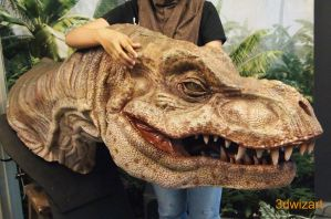 Baby T. rex Costume (WIP) 2 by FUVL