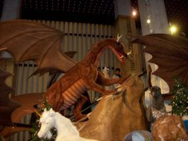 dragon at a toystore 3 by snaphappy101