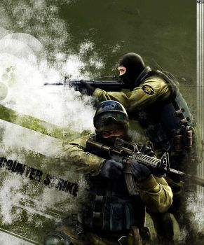 Counter Strike Poster by x0xNEOx0x