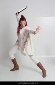 Jedi  - Stock Pose Reference 38 by faestock
