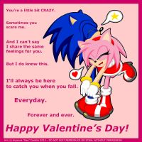 :: Playful Love with Sonic and Amy by Neon-Nazo