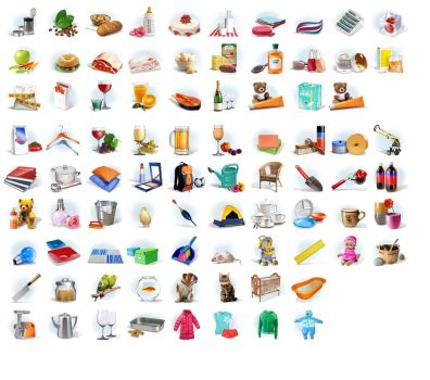 icons for some e-shop by iji-design