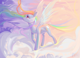 Creation of flight's magic by utauYan