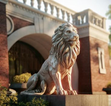 Lion Sculpture by doubleagent2005