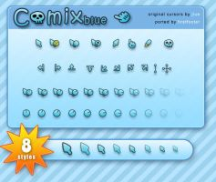 comix blue by firstfooter