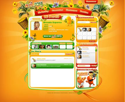 tictac mexico web design yello by diego64