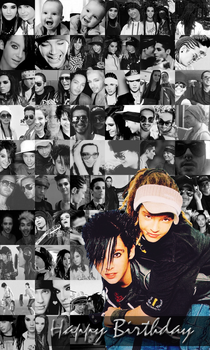 happy 23rd birthday to kaulitz twins by hope1920