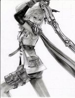 FFXIII- Lightning by leon7929
