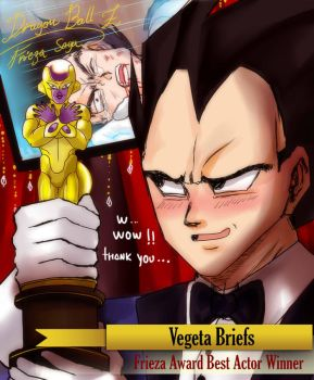 Golden Frieza Best Actor award by carolriverart