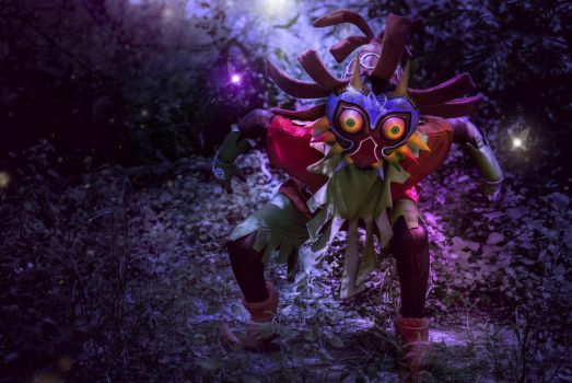 Skullkid - The Legend of Zelda: Majora's Mask by Reneks
