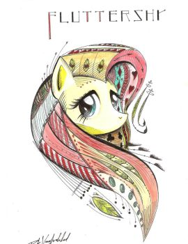 Art of shyness by PuksArt