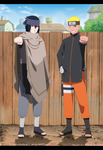 Naruto The Last  Thanks For 300.000 Pageviews by IITheYahikoDarkII