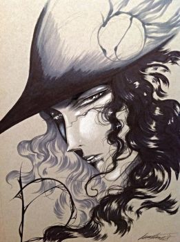 Vampire hunter D portrait II by Giname