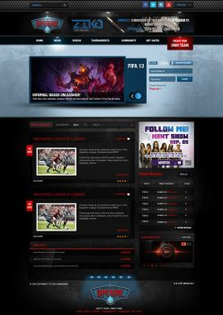 TheGamerBase-Homepage by MrAtef