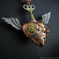 Latest steampunk creations by steelhipdesign