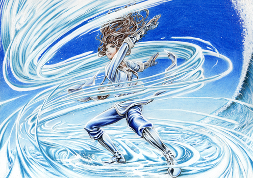 Waterbender Katara by Didip