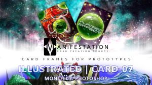 Month 03: Card 07 - Photoshop (Illustra. | Sci-Fi) by CauseThought