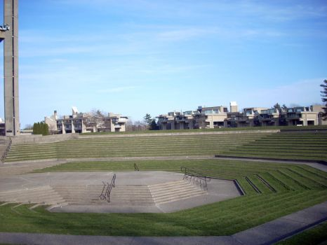 Amphitheater View by cranstonide