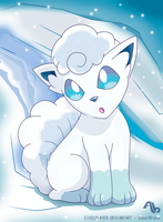 Ice Vulpix ~ Alola Form by EixelPlayer
